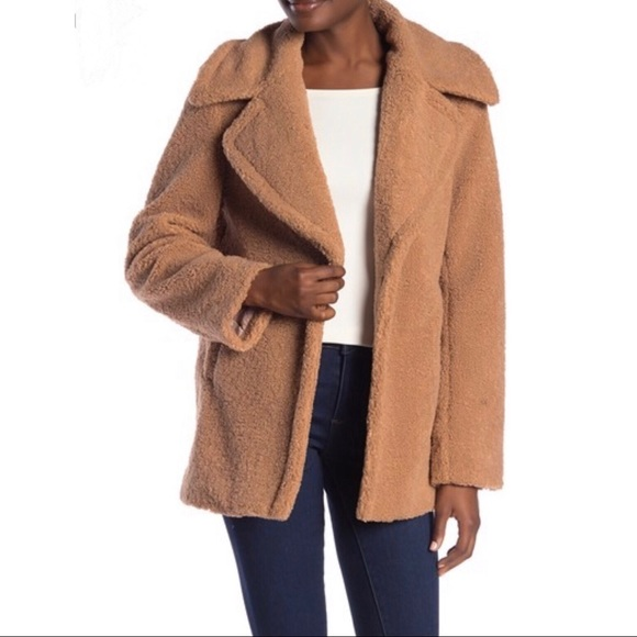 French Connection Jackets & Blazers - French Connection Faux Shearling Teddy Jacket - XL